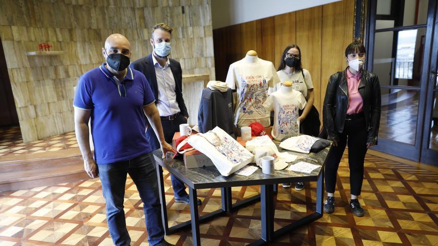 Gijón ofrecerá a los turistas souvenirs con personajes locales