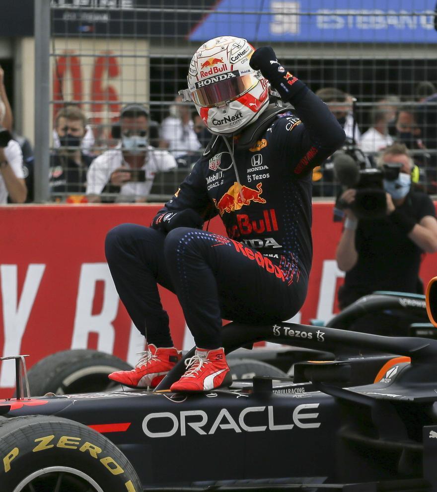 Fórmula 1: Verstappen reina en el GP de Francia