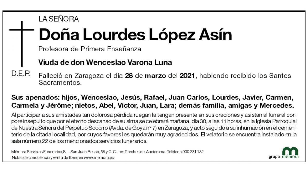 Lourdes López Asín