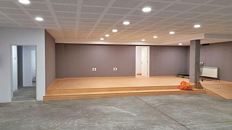 Culleredo concluye la ampliación del centro cívico de Fonteculler con un nuevo salón de actividades
