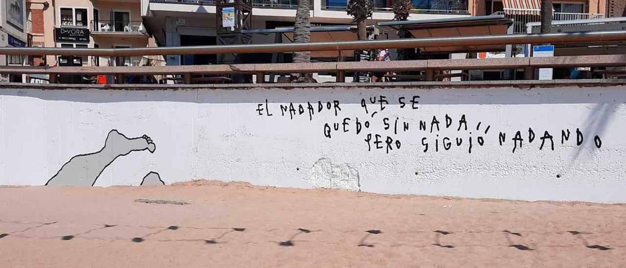 La obra del artista Tito Pérez Mora en Benidorm.