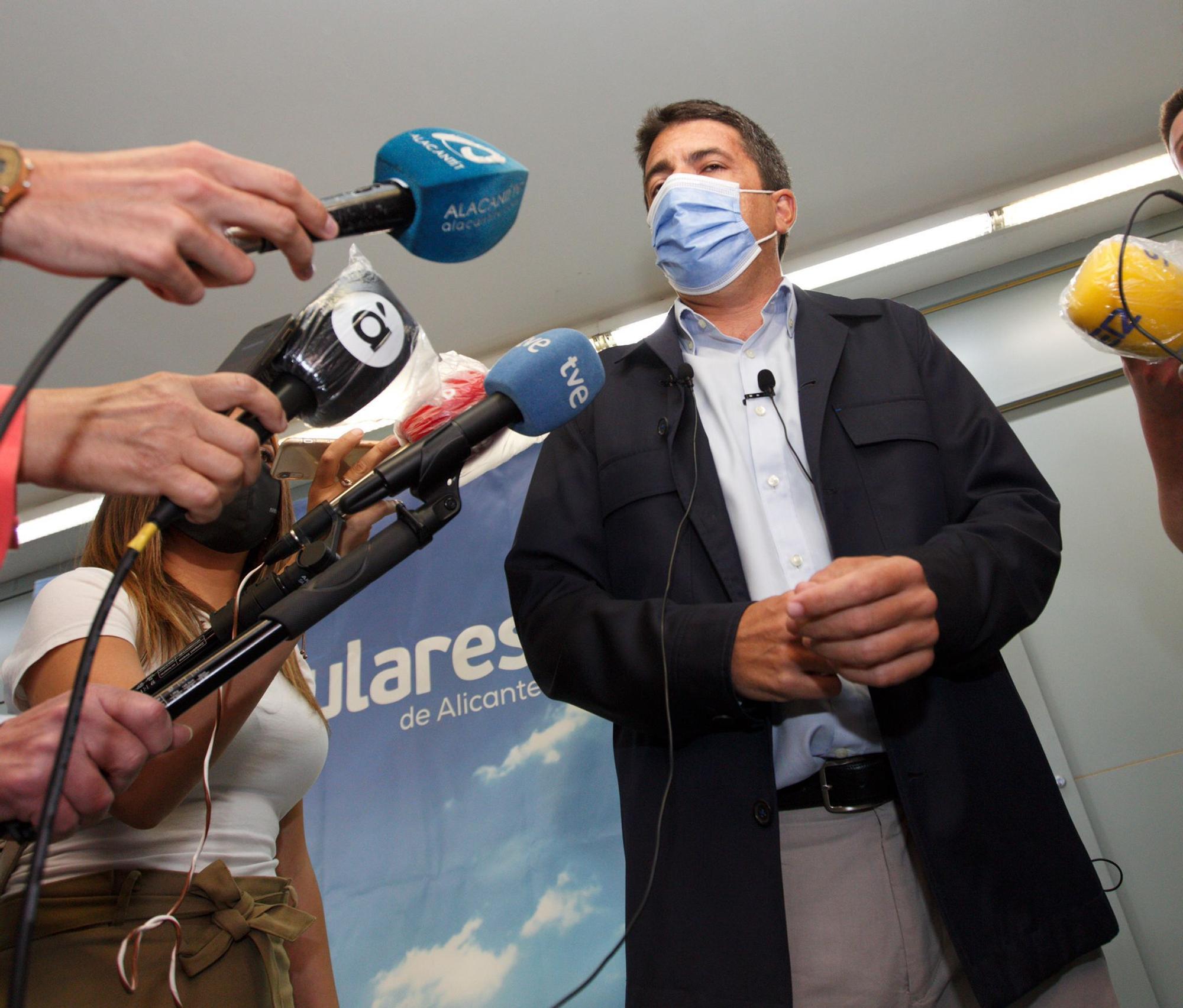"""Mazón: """"El PP está preparado para cuando Puig convoque elecciones"""""""