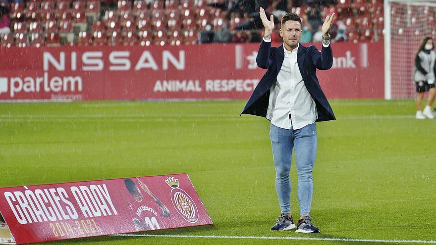 Montilivi dedica l'última ovació a Aday