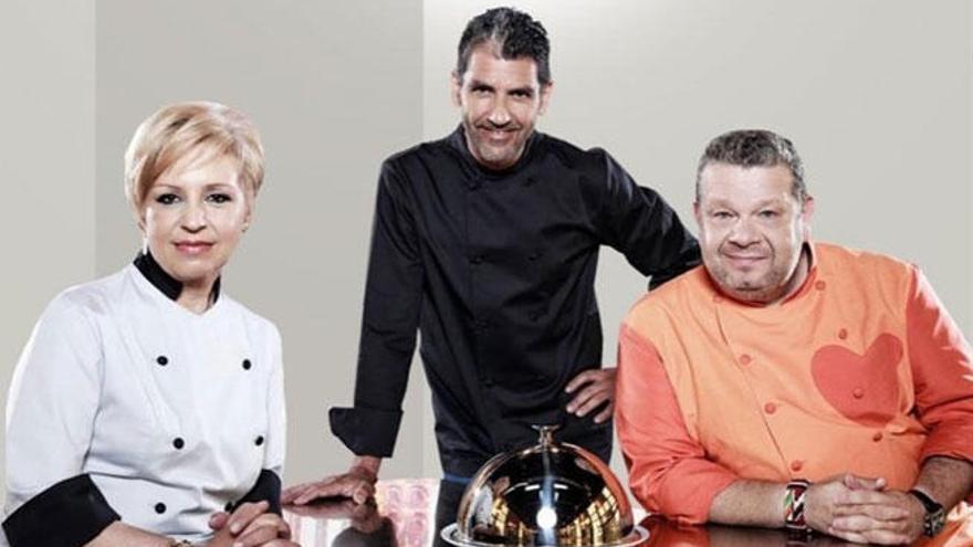Chicote, Susi Díaz y Roncero ya graban la cuarta temporada de 'Top Chef'