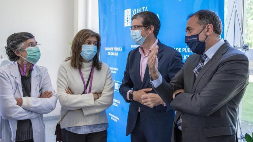 "Comesaña: ""El hospital de Verín 'non se pecha' se amplía con un salto cualitativo"""