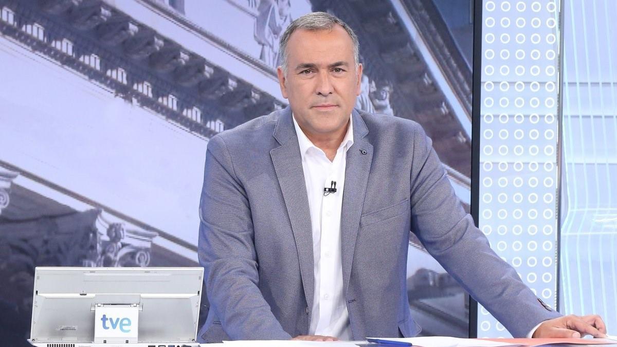 Una imagen del periodista Xabier Fortes.