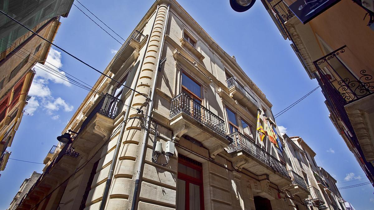 Edificio de la Cámara de Comercio de Alcoy