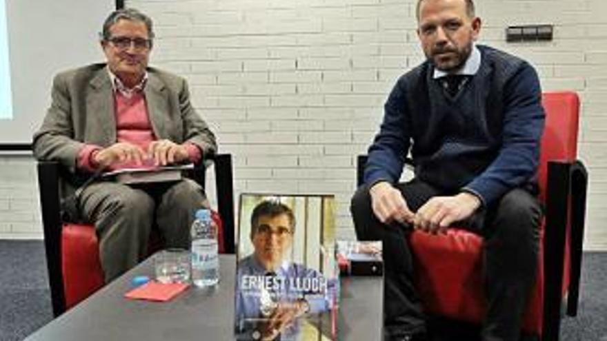 Presenten a Figueres la guardonada biografia del polític Ernest Lluch