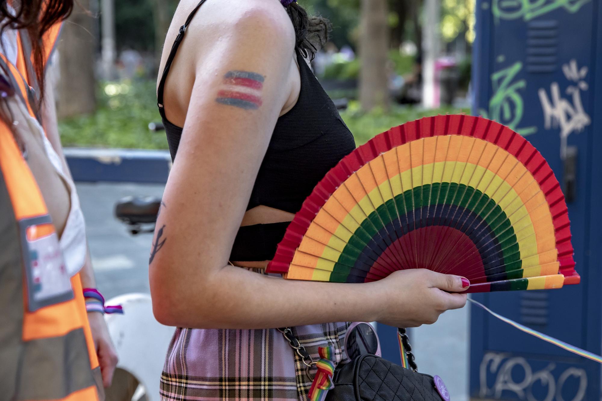 Un millar de personas se manifiesta en Palma en pro del colectivo LGTBI