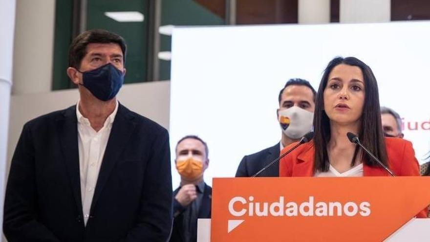 """Juan Marín: """"Terminaré en este partido (Cs) y de aquí me iré a mi casa"""""""