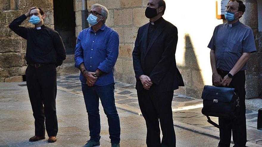 El obispo de Astorga clama contra la pobreza en su primera visita a Sanabria