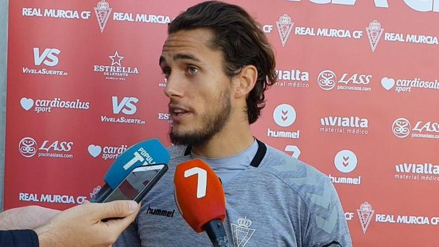 Corredera, cuarto jugador que abandona el Real Murcia