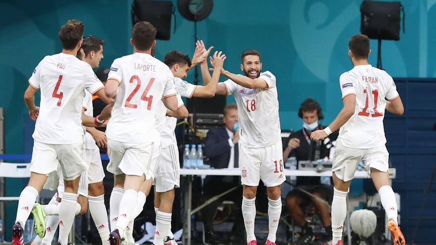 Así ha sido el partido Suiza-España