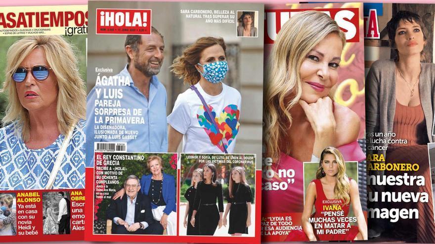 Del mundo de la chatarra al del lujo: Ágatha Ruiz de la Prada corteja con un financiero