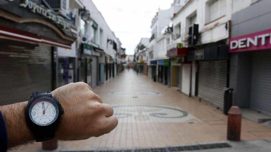Jueves, 30 de abril | Málaga vacía a las 12.00pm