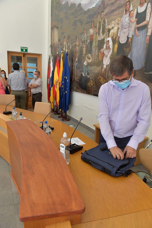 Pleno de renuncia del alcalde de Santa Lucía de Tirajana