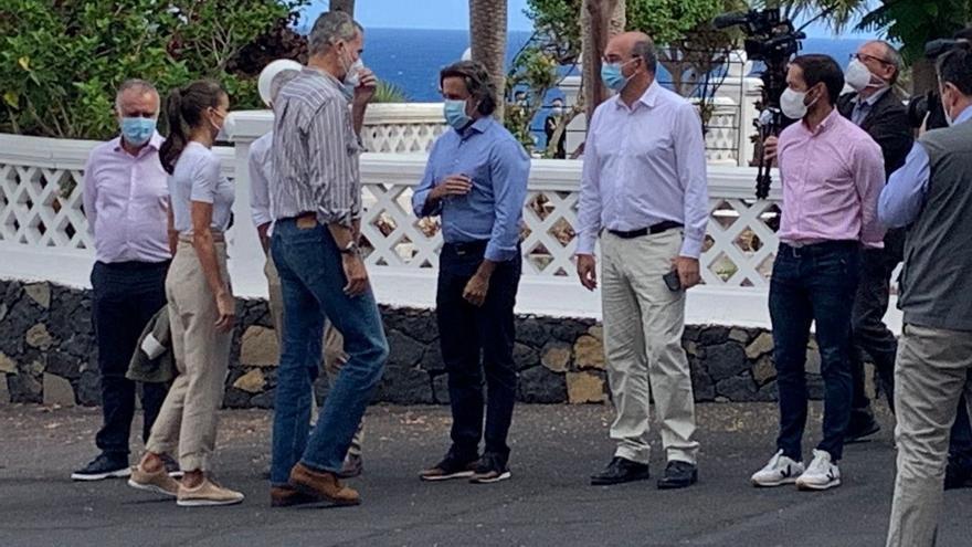 Directo | Los Reyes visitan a las personas evacuadas en La Palma
