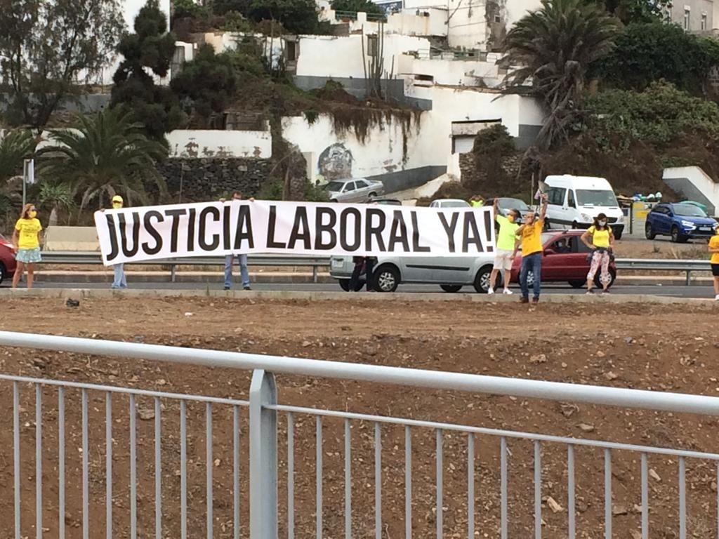Apertura del tramo Arucas-Costa, obra de la cuarta fase de la circunvalación a Las Palmas de Gran Canaria