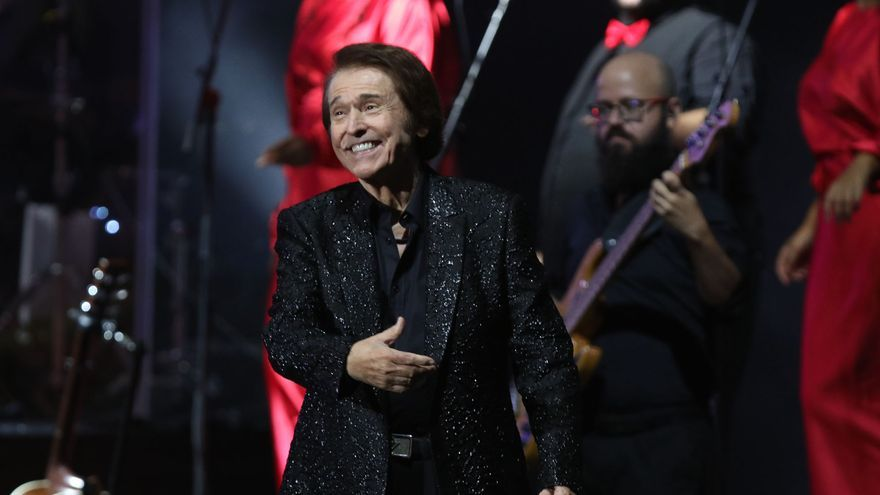 Raphael en el Starlite Festival de Marbella de 2021