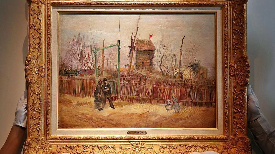 Subastan un cuadro de Van Gogh oculto  durante un siglo