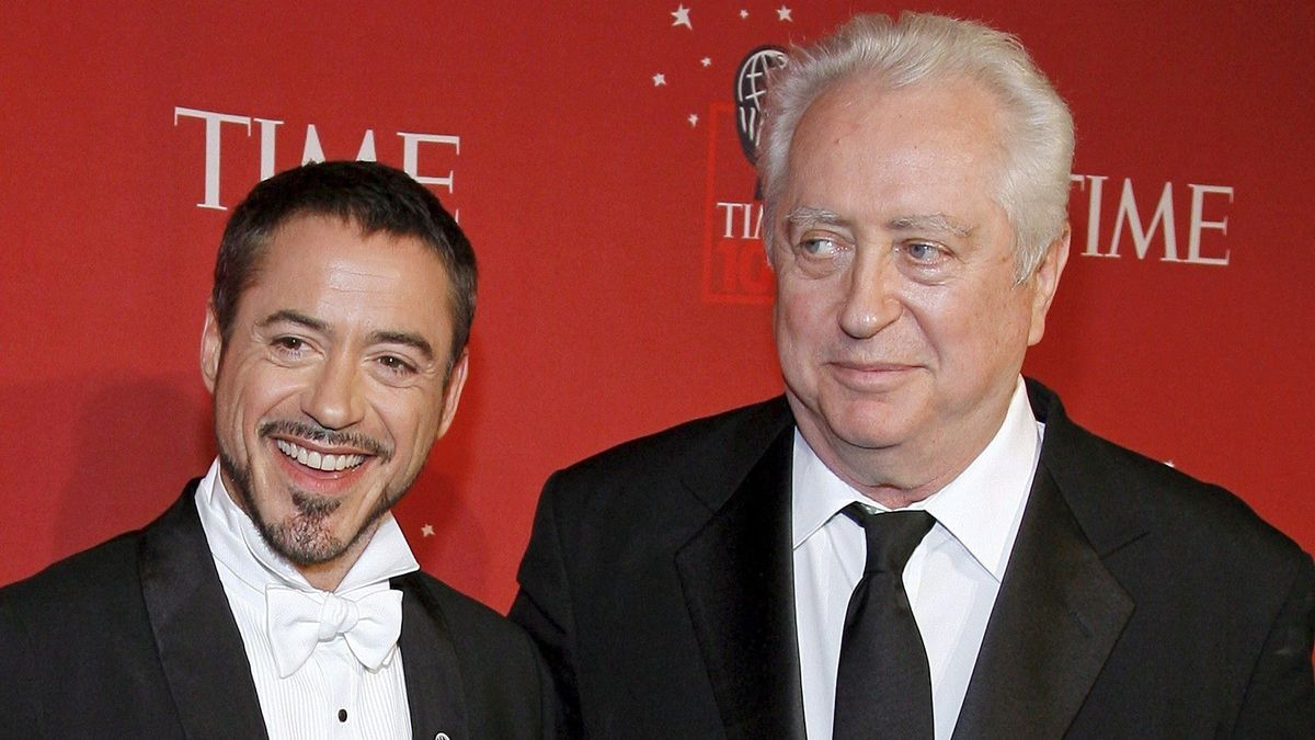 Muere Robert Downey Sr.