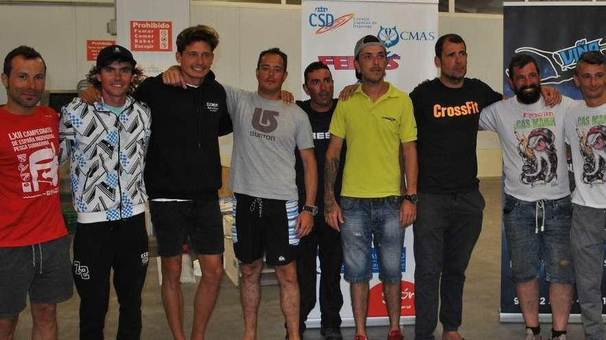 El equipo Caza y Pesca gana el XXII Maratón del Club Apnea