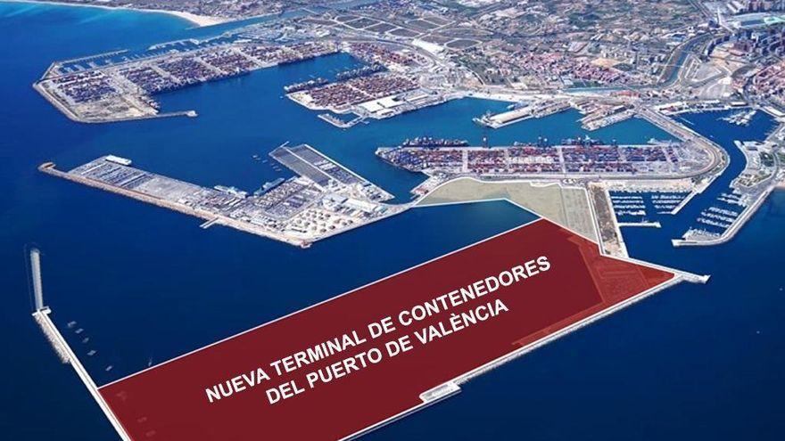 Puertos del Estado despeja el camino para la ampliación del recinto valenciano