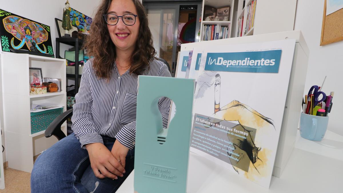 Mireia Pascual, ganadora de la V edición de Talento Joven en la categoría de Acción Social.