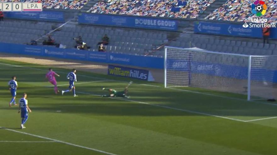 Vídeos de los goles y resumen del partido CD Sabadell 3 - 1 UD Las Palmas