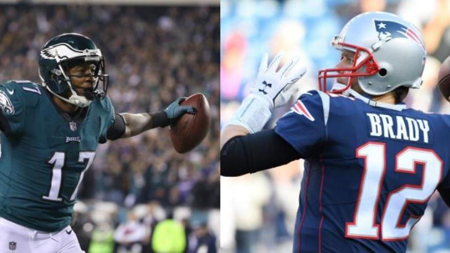 Patriots i Eagles disputaran la LII edició de la Superbowl