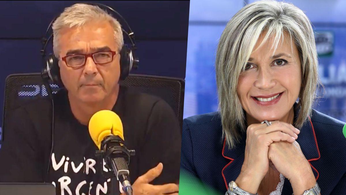 Carles Francino y Julia Otero.