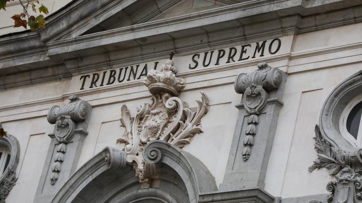 Imagen del Tribunal Supremo.