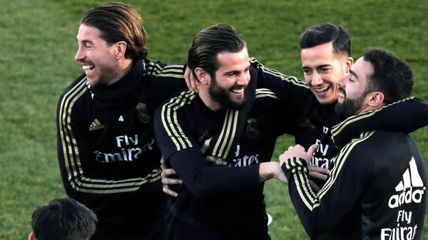 El Real Madrid estrena 2020 con Marcelo y Lucas Vázquez ya recuperados