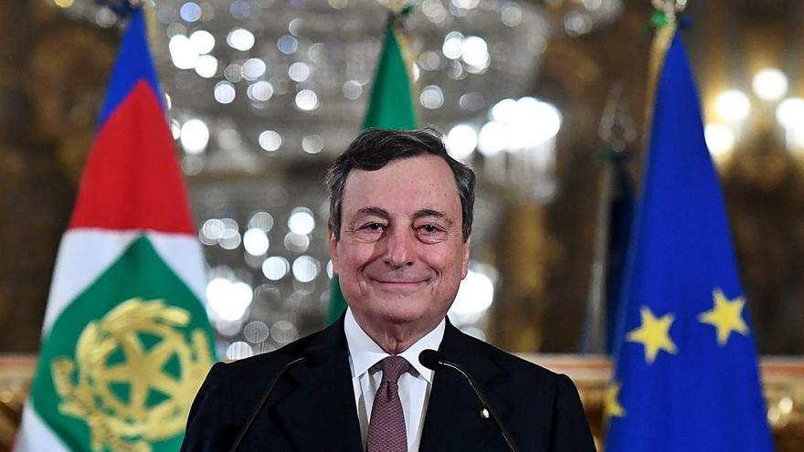Draghi forma un Govern híbrid de tecnòcrates i polítics per superar la crisi