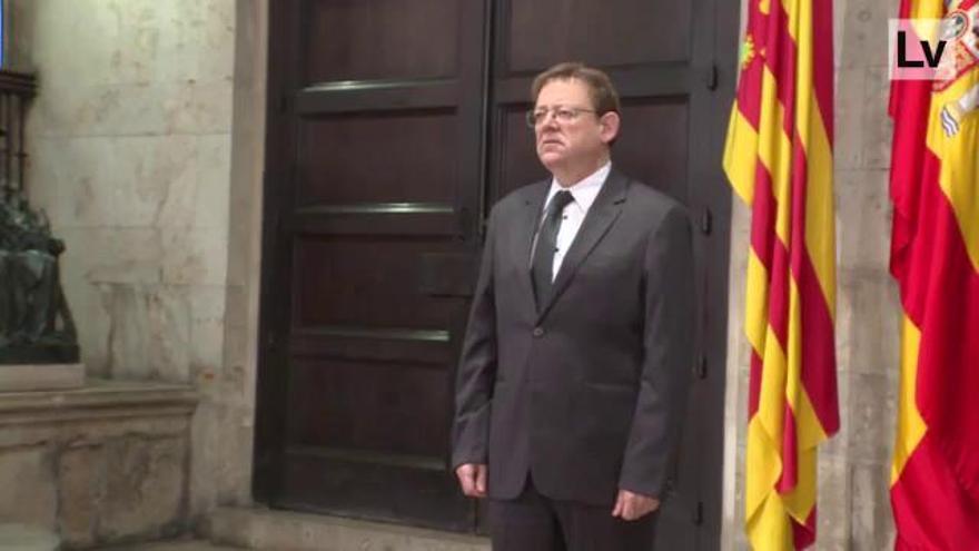 La Comunidad Valenciana enmudece por las víctimas de la covid-19