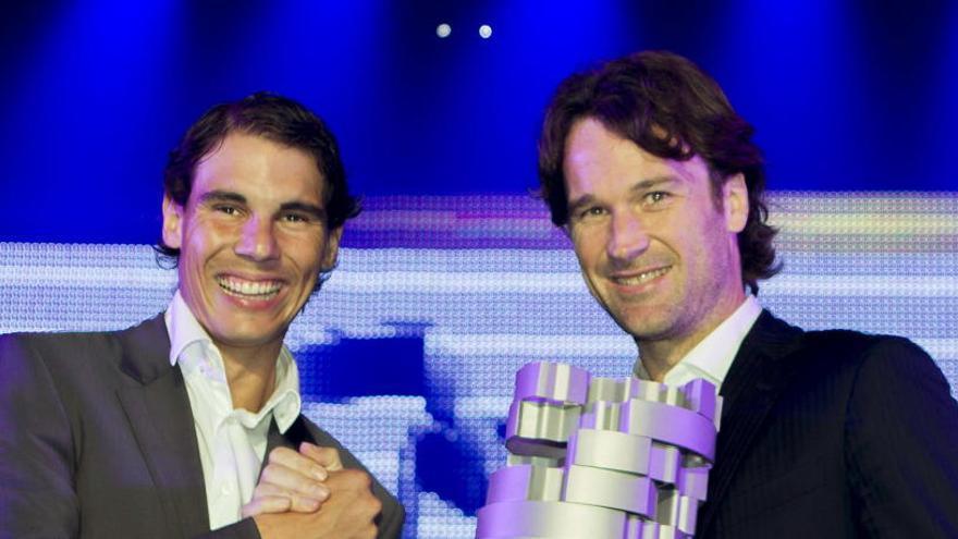 Carlos Moyá se une al equipo técnico de Rafael Nadal