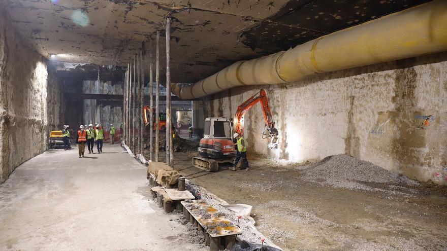 El metro de Málaga, a punto de unir los últimos túneles para llegar al Centro