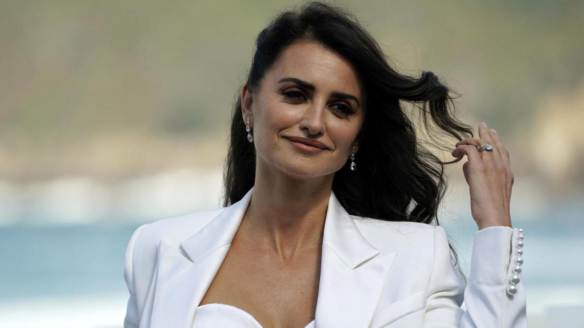 La actriz madrileña Penélope Cruz.
