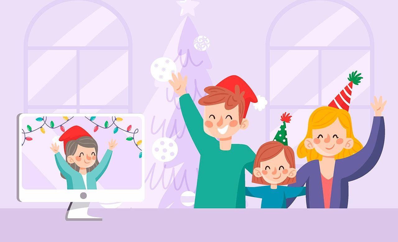 """Las unidades familiares, a modo de """"burbuja"""" deben ser estables durate todas las fiestas, no se puede rotar de grupo con otra familia en Nochebuena, Navidad o Nochevieja"""