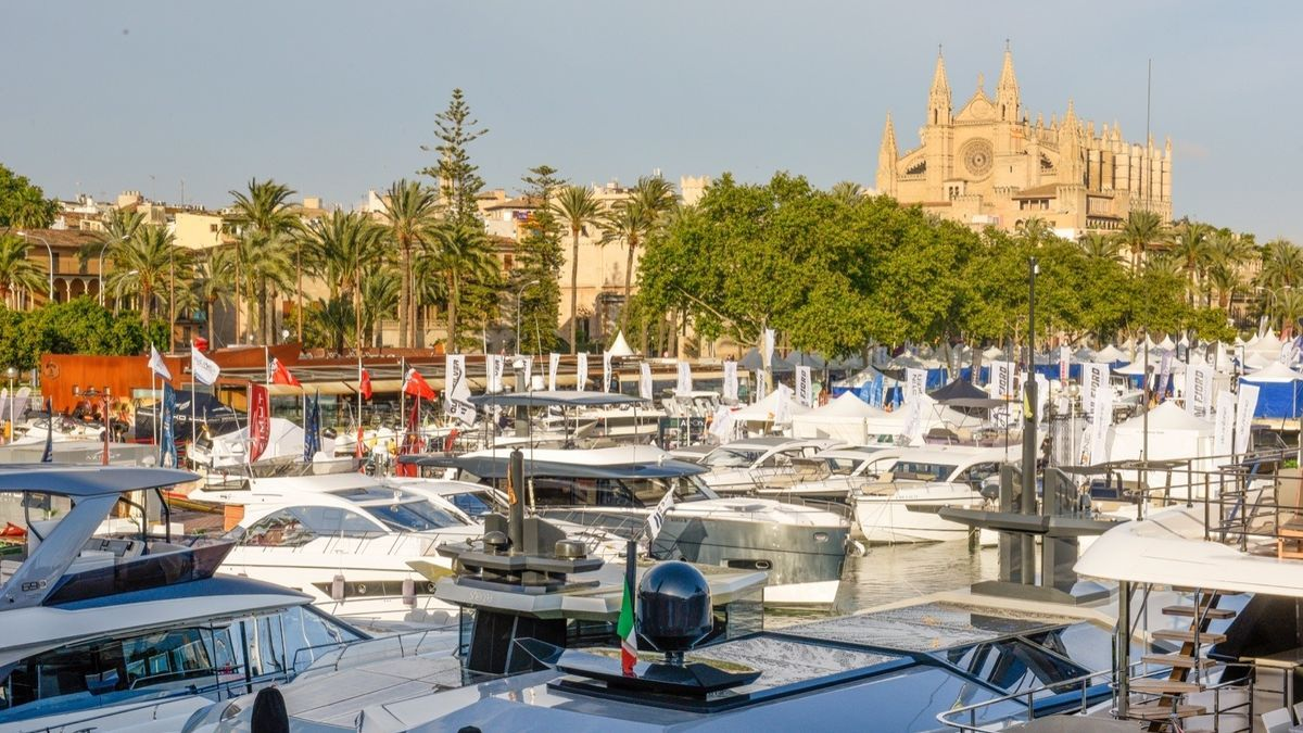 Embarcaciones expuestas en la Palma International Boat Show