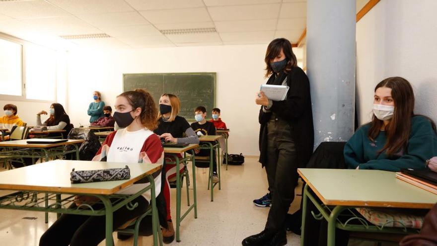 Cinco positivos por coronavirus en los centros educativos de Ibiza