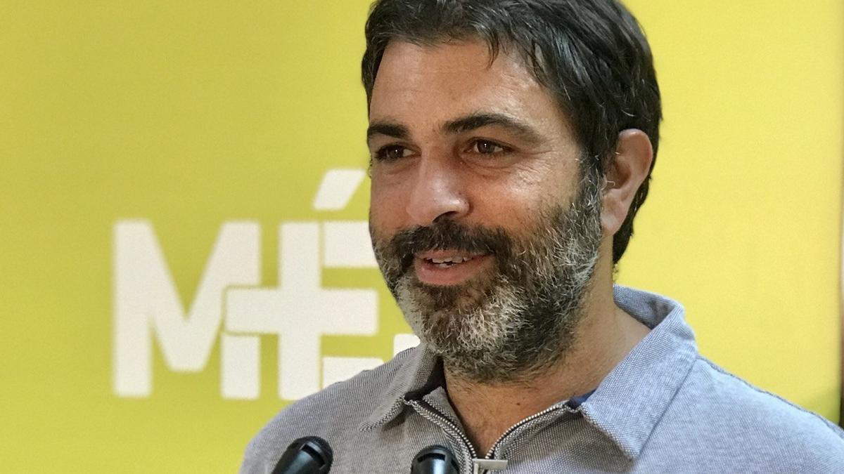 Josep Ferrà, diputado de Més per Mallorca.
