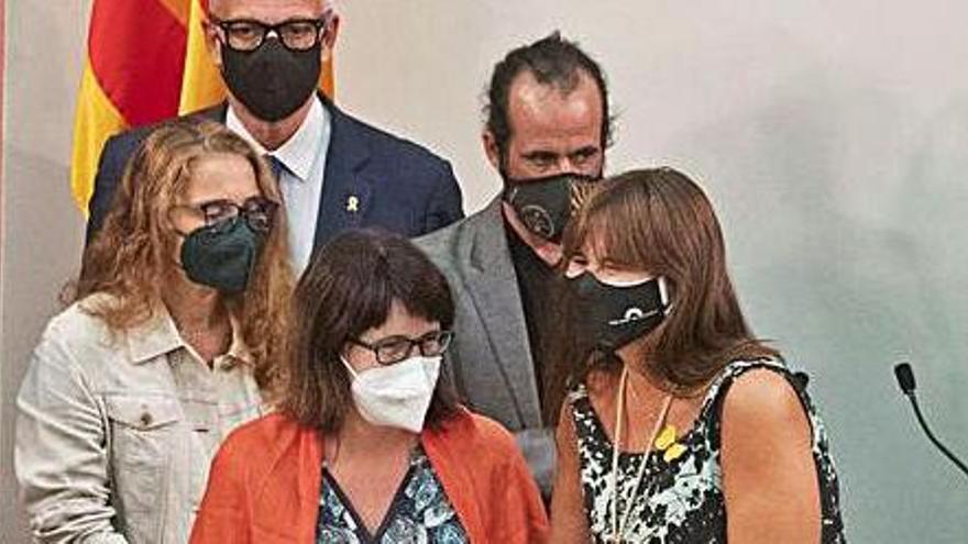 Laura Borràs reivindica els «símbols» en l'homenatge a les «víctimes de la repressió»