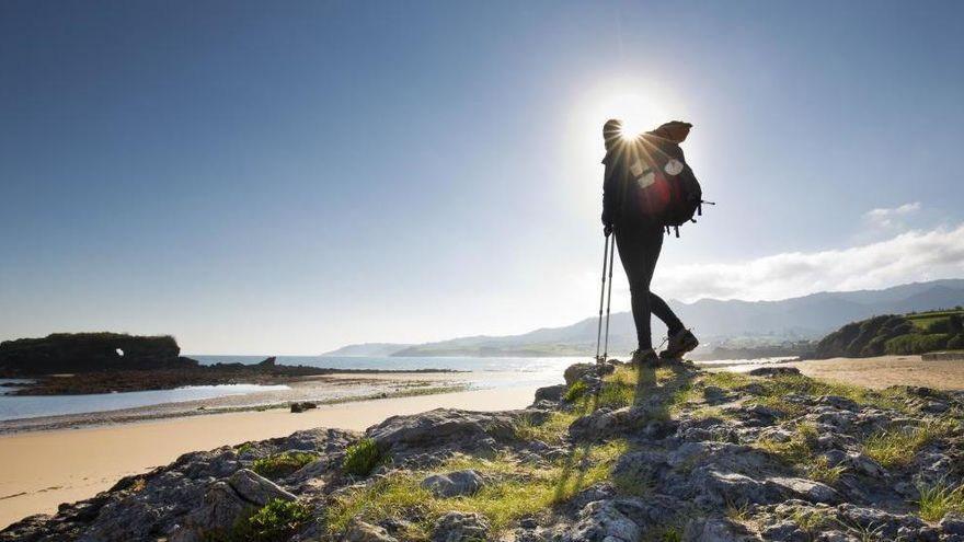 Los itinerarios asturianos del Camino de Santiago ganan adeptos