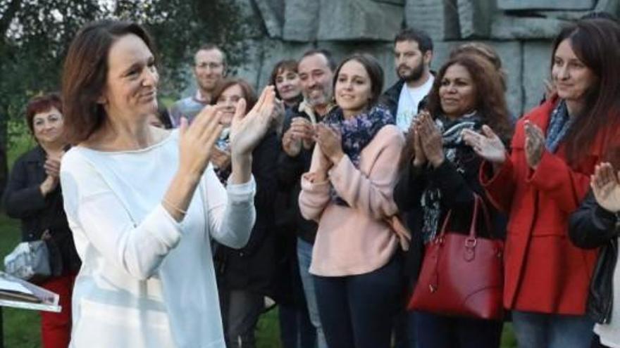 Carolina Bescansa dejará el escaño en el Congreso para volver a la universidad