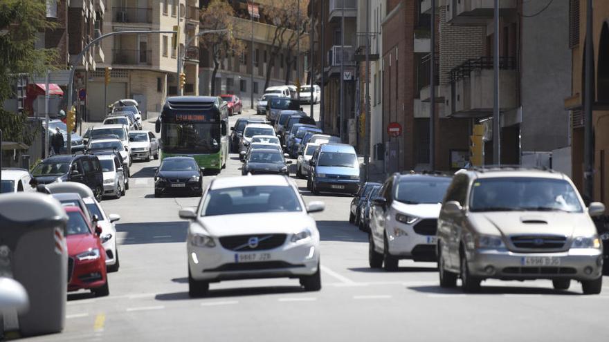 Manresa estén a tota la trama urbana el límit de 30 km/h