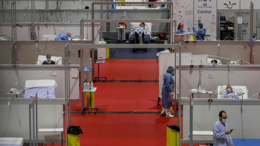 Madrid aprueba 5 millones para medicamentos y material para el hospital de Ifema