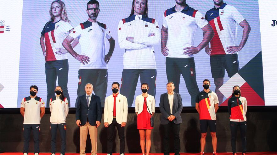 Así es la equipación de España para los Juegos Olímpicos de Tokio