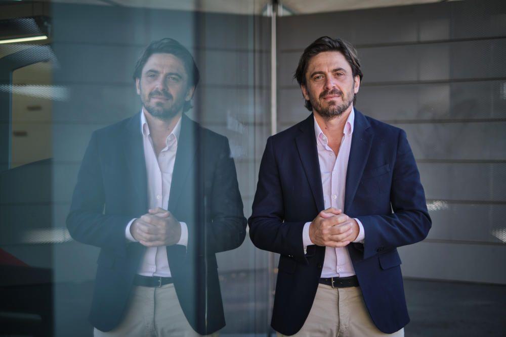Jorge Marichal, presidente de la FEHT y Ashotel