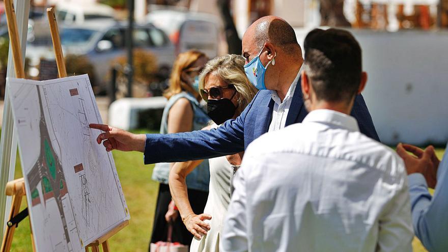 El Consell de Ibiza da vía libre a las obras que permitirán peatonalizar Sant Carles